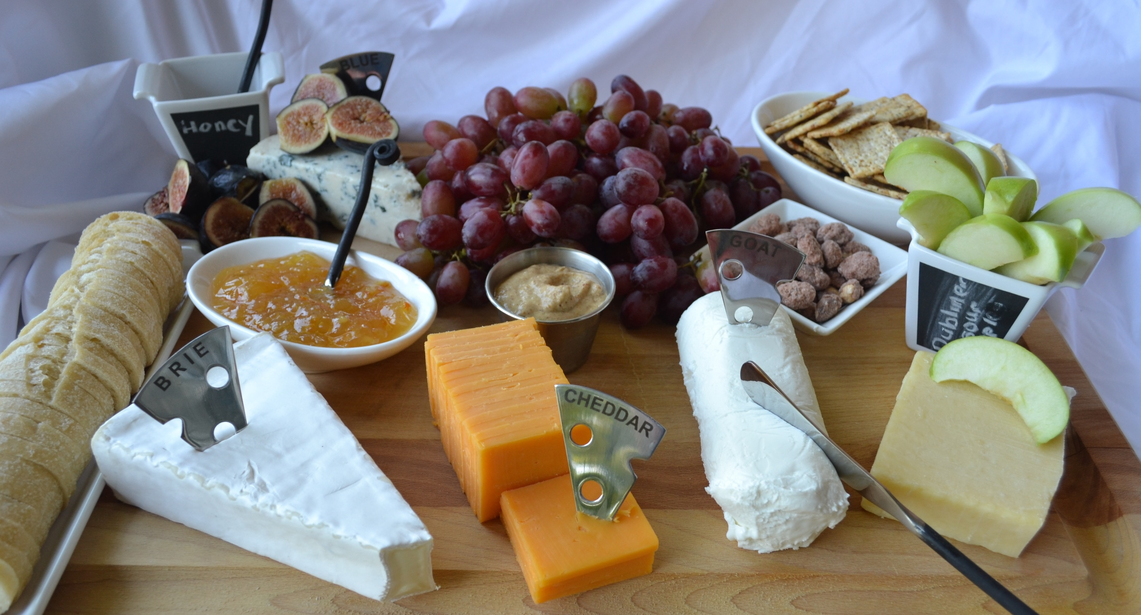 Preparing a Cheese Platter