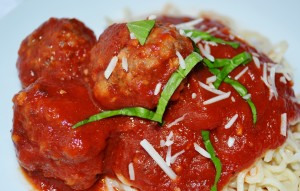 Mike's Spaghetti with Marinara & Meatballs