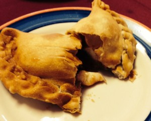 Guava and Cheese Empanada