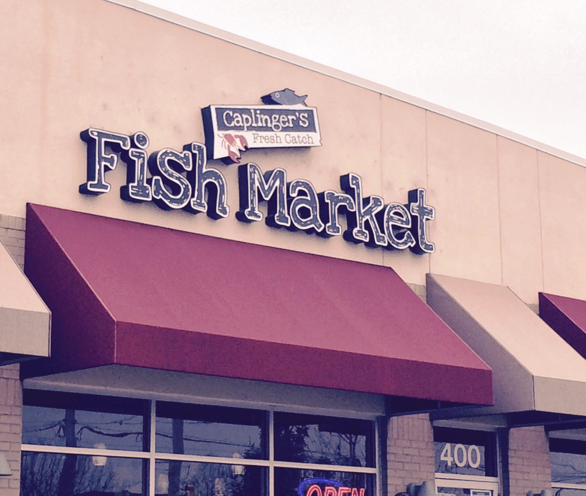 Caplinger's Fresh Catch Fish Market Review